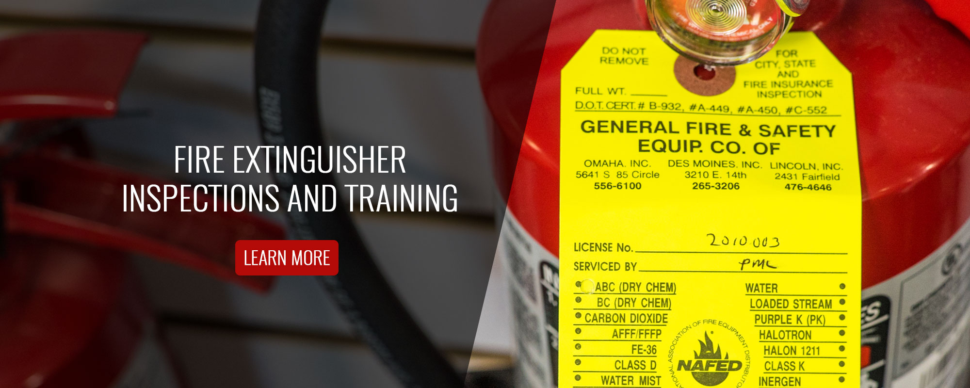 Fire Extinguisher Inspections and Training