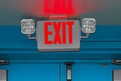 Emergency Lighting Systems and Exit Signage Inspection by Genera Fire and Safety