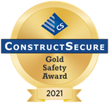 ConstructSecure gold safety award